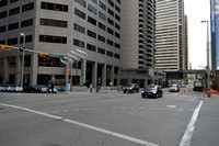 Calgary's Downtown City Streets