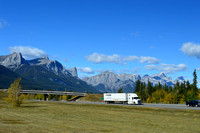 TransCanada Highway Canmore