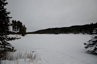 McLean Pond in the winter